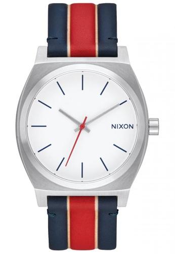 Nixon white Nixon - Time Teller - White / Stripes NI855AC62SXTSG_1