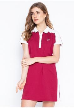 258ef640ff3d4 REGATTA red Knee-Length Shirt Dress With Tipping 02001AA17A5A52GS_1