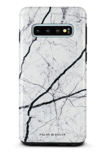 Polar Polar white Classic White Samsung Galaxy S10 Dual-Layer Protective Phone Case (Glossy) 1E6C5ACAACE0CFGS_1