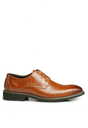 Twenty Eight Shoes brown Cow Leather Brouge Oxford Shoes VMF2538 1FC3ESH75FE162GS_1