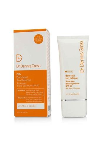 Dr Dennis Gross DR DENNIS GROSS - 防曬霜SPF 50 DRx Dark Spot Sun Defense Sunscreen Broad Spectrum SPF 50 50ml/1.7oz BE44EBEDC96FECGS_1
