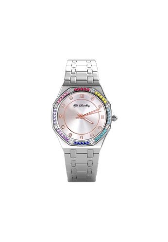 Her Jewellery Rainbow Knight Watch - Embellished with Crystals from Swarovski® 88DC8ACD6E3ED9GS_1