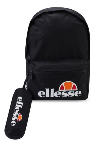 ellesse black Rolby Backpack & Pencil Case E8A41AC01492EAGS_1