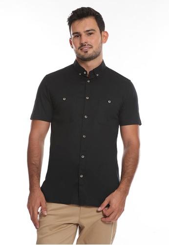Men's Top black TWIMPO-BLACK Shirt F8C6AAA45FD7A0GS_1