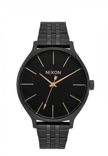 Nixon black CLIQUE ALL BLACK E1520AC35BF87AGS_1