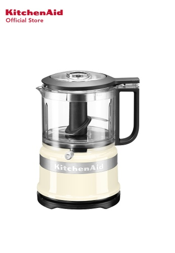 KitchenAid KitchenAid 3.5 CUP Mini FOOD PROCESSOR 5KFC3516BAC ALMOND CREAM 40ADEHLDF28E02GS_1
