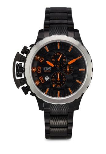 Carlo Cardini black Carlo Cardini CX5 005G-BLK-4 Gents Watch CA038AC55LDWMY_1