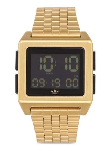 adidas gold adidas originals Archive M1 Watch 9AE2FACF3C5364GS_1