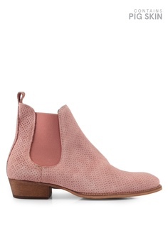 96e0413239dd Topman pink Pink South Chelsea Boots TO413SH0SLY4MY 1