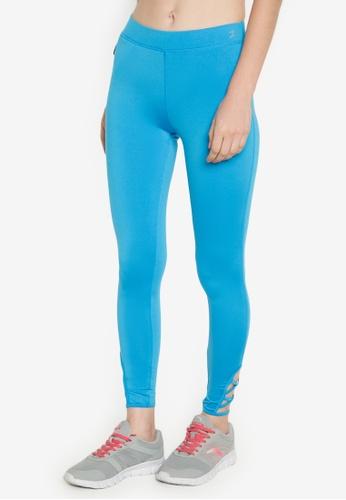 Danskin blue Training Collection Skin Fit Long Pants DA964AA0IXAEPH_1