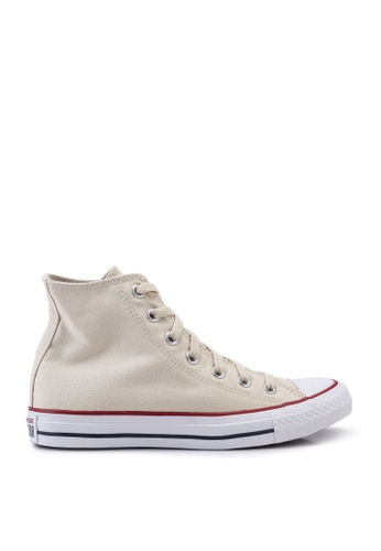 Converse white Chuck Taylor All Star Hi Sneakers CO302SH0SW64MY_1