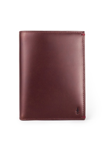 Gnome and Bow red Jules Passport Wallet E84E7AC4B8BE88GS_1