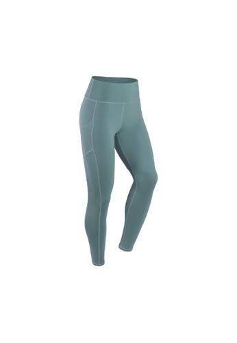 VIVIESTA SPORT green Heart Shape Workout Sports Leggings B9C94AA54B0B6FGS_1