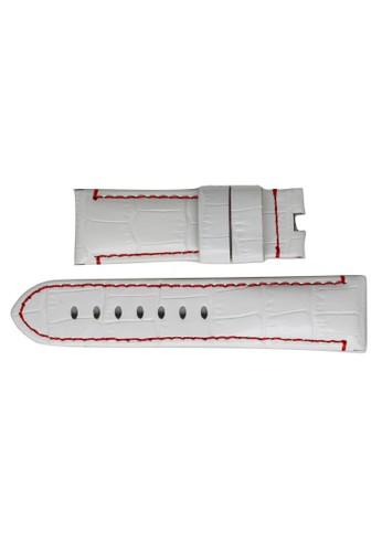 STRAPS white Straps-Leacrc-2422 ST324AC75QHKID_1