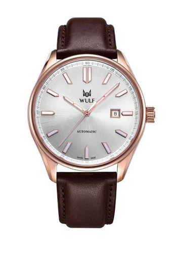 Wulf brown Wulf Alpha Rose Gold and Brown Leather Watch 02B63ACA4D4766GS_1