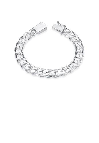 Glamorousky silver Fashion Geometric Bracelet F3401AC1D12C0CGS_1
