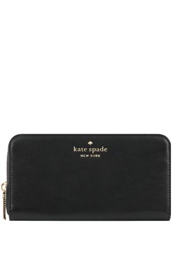 KATE SPADE black Kate Spade Staci Large Continental Wallet - Black F7AB9AC8D83CD1GS_1
