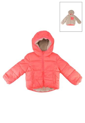 GAP pink Cozy Reversible Puffer Jacket BBDD7KA4DDDD6EGS_1