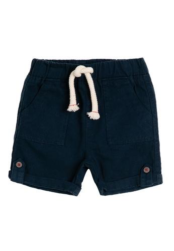 KOTON blue Casual Baby Shorts 7EC9DKA28B0C3EGS_1