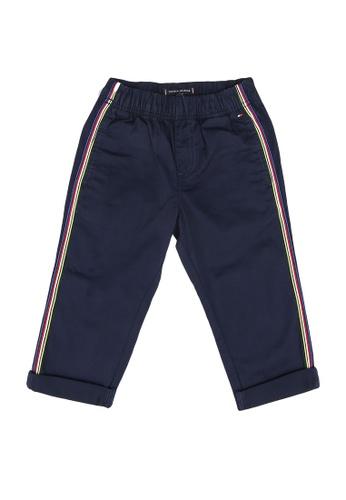 Tommy Hilfiger navy Pull On Tape Chino Pants DE115KA4BDD203GS_1