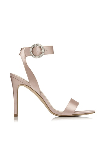 Forever New pink Clara Jewelled Buckle Heels A5FD2SHB1E4302GS_1