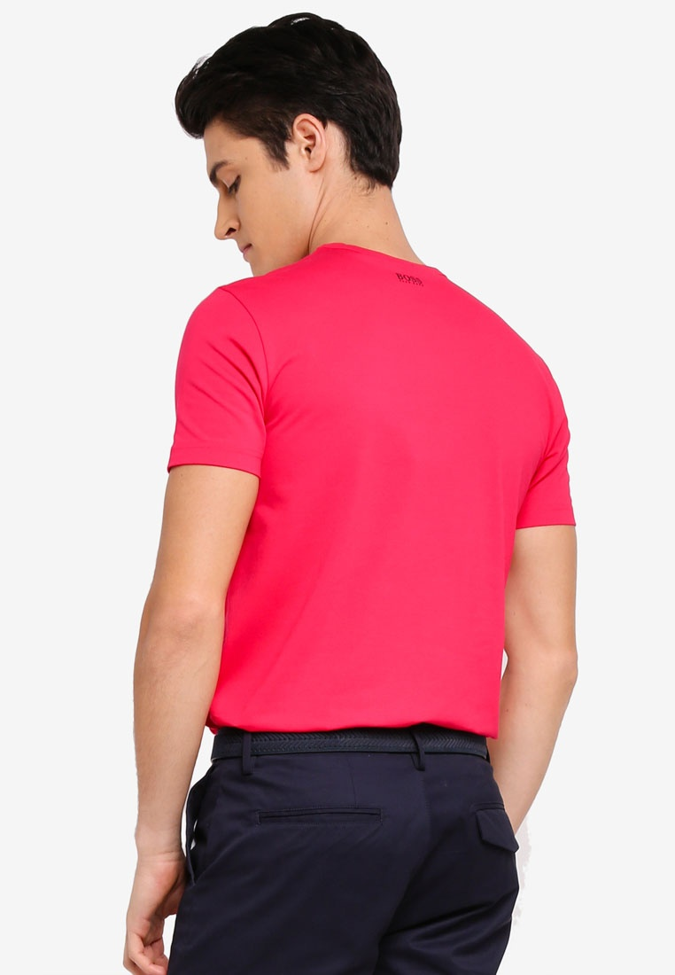 Bright Us BOSS Athleisure Pink Boss Tee dtqAwIt