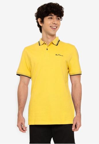 Ben Sherman yellow Signature Polo D5874AA88AE8F6GS_1