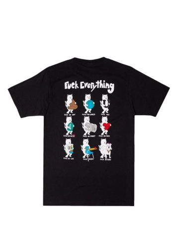 RipNDip black FUCK EVERYTHING TEE 73B86AA8F79F4DGS_1