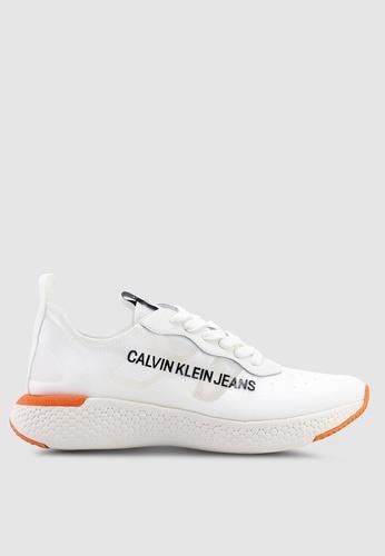 Calvin Klein 白色 Alban Sneakers EC325SH90496FCGS_1