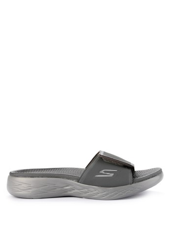 Skechers grey On The Go 600 Sandal 3E8EFSH29FF703GS_1