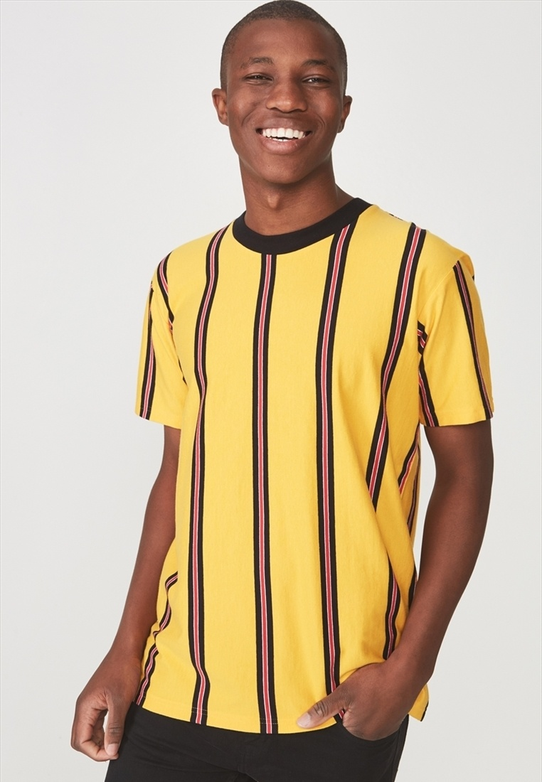 Yellow Dylan Tee Dylan On Tee Tee Cotton Dylan Yellow On Yellow Cotton Cotton Dylan On Tee Cotton On ArxO6n7r