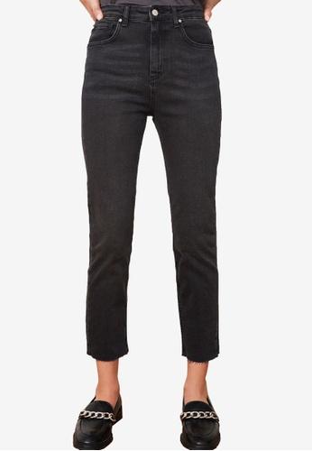 Trendyol black High Waist Slim Fit Jeans E1EC0AA1144604GS_1