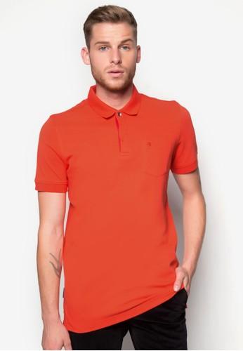 素色合身POLO esprit outlet衫, 服飾, Polo衫