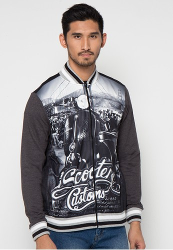 Print Scooters Jacket
