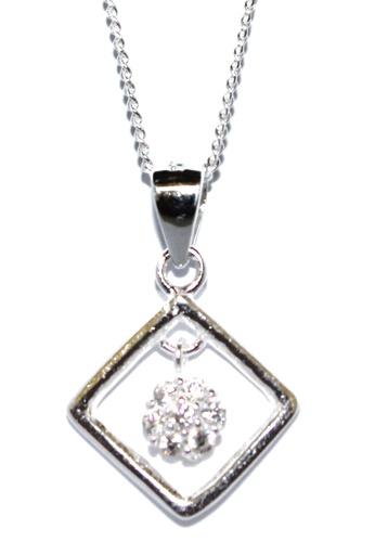 Venice Jewelry silver Venice Carnation Necklace VE564AC12GLZPH_1