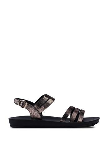Noveni brown Mineral Sandals A5808SHD49C659GS_1