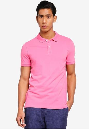 OVS 粉紅色 Basic POLO衫 2C05AAA3D1ED6AGS_1