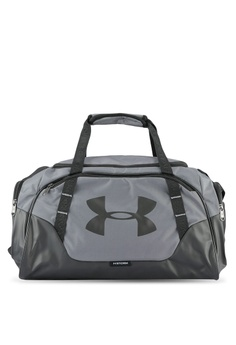 Under Armour grey UA Undeniable Duffle 3.0 Bag UN337AC0RUGBMY_1