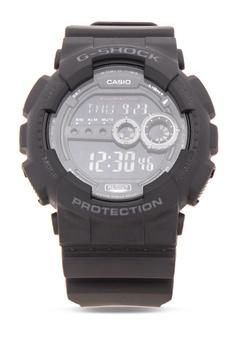 5401eb2b2286 Casio black G-SHOCK Watch GD-100-1BDR CA076AC61CZAPH 1