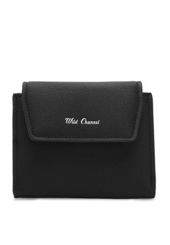 Wild Channel black Women's Bi Fold Wallet 0F456ACCD56712GS_1