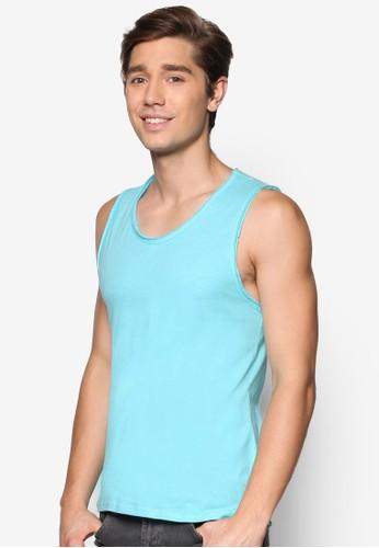 esprit旗艦店彩色棉質背心, 服飾, T恤