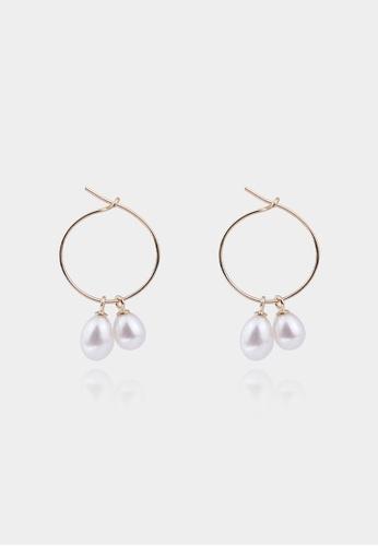monojewelry ABELIA PEARL EARRINGS (WHITE) 70B6DAC98CD89DGS_1
