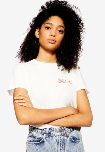 9fe635f240b Buy TOPSHOP Ooh La La T-Shirt Online on ZALORA Singapore