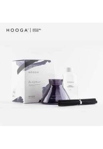 HOOGA Hooga Reed Diffuser Modernist Series Rose & Cedarwood 48663HL8834056GS_1