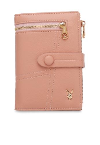 PLAYBOY BUNNY pink Ladies Short Purse 0D8C1AC580DA5EGS_1