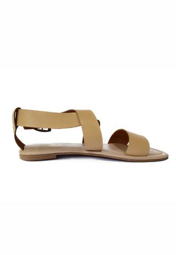 HDY beige Celine Flats Sandals HD484SH98HKZPH_1