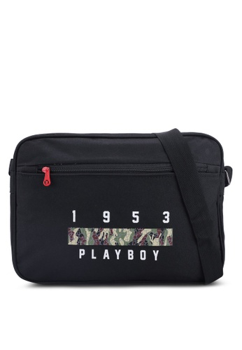 Playboy black Playboy Sling Bag 2168DAC4C258CBGS_1