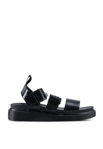 Rubi black Kim Combat Sandal 53BC5SH4178B11GS_1