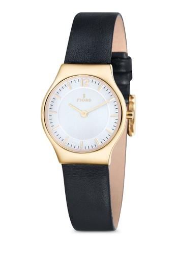 EDLA 雙指針皮革esprit hong kong錶, 錶類, 飾品配件