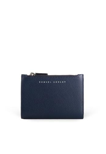 Samuel Ashley blue Mavis Bi-fold Wallet  - Deep 42557ACBC8410FGS_1